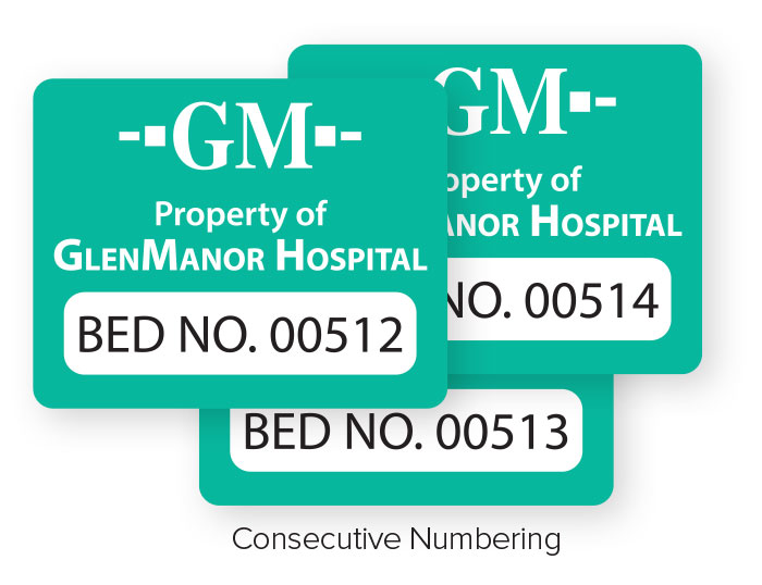 Consecutive Numbering Labels
